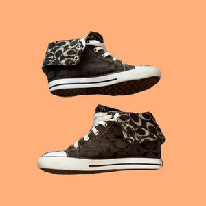 Coach Bonney high top sneakers